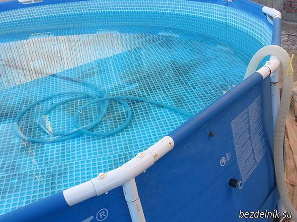 бассейн спустя полгода