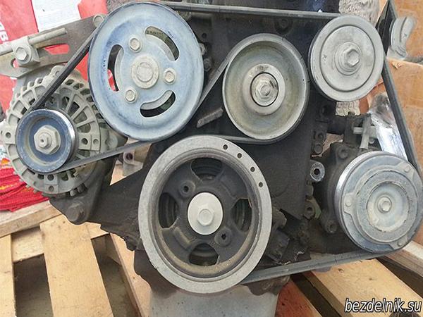 схема ремня генератора K3VE