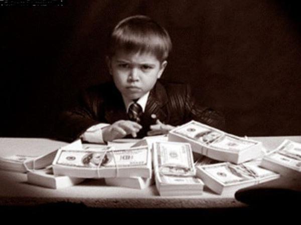 дарить детям деньги