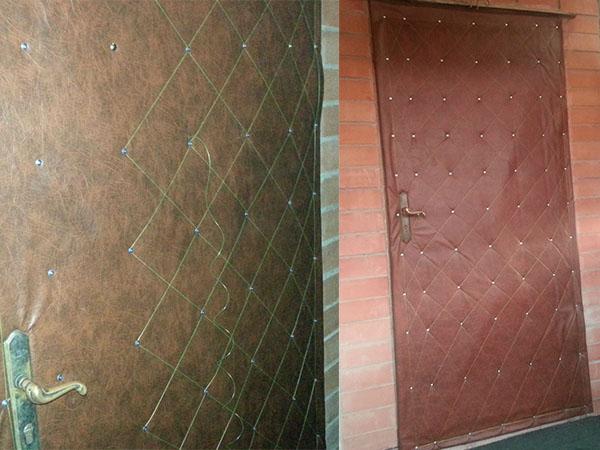 дверь после реставрации