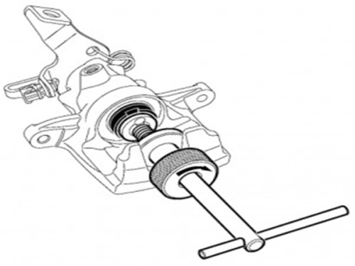 Инструмент для сжатия тормозного цилиндра FORCE 65803