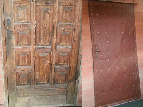 Реставрируем входную дверь