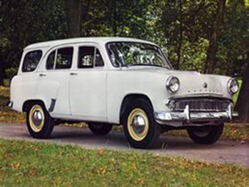 Мой первый автомобиль – Москвич 423Н.