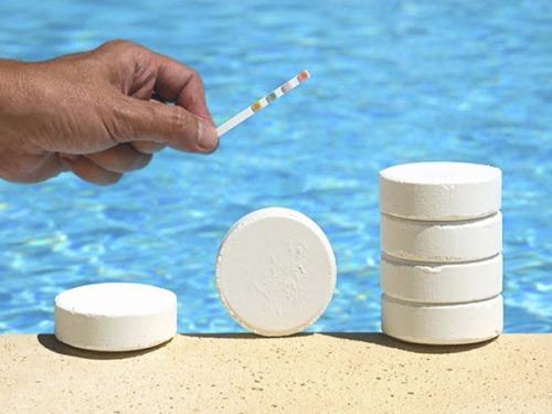 Сколько продержится вода в бассейне без химии.