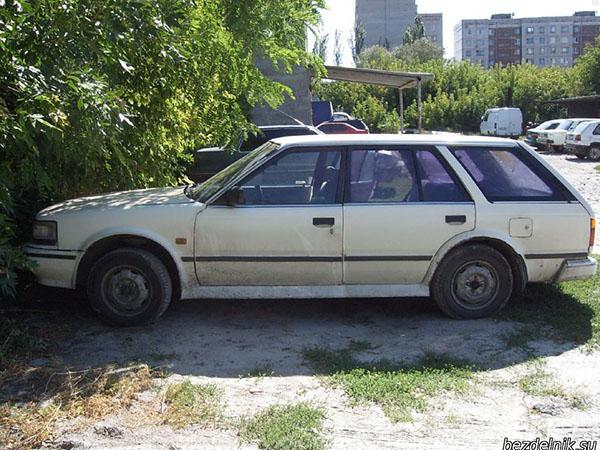 Мой третий авто Ниссан Блюберд.