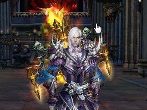 Как создать персонажа в онлайн игре Dark Age. Фото инструкция.